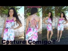 YouTube Alana Santos, Sewing Tutorials, Sewing Patterns, Videos, Lily Pulitzer, Youtube, Dresses, Women, Fashion