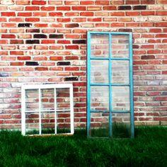 Old barn windows.