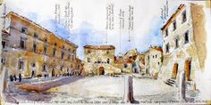Urban Sketchers: Architecture Fellowship in Italy, Installment 2