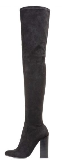 The right pair of over-the-knee boots can be a magical addition to your wardrobe. 'Perouze' by Jeffrey Campbell at AshburySkies.com