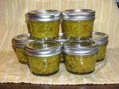 This is the best relish I have ever had. I use my food processor to chop. This is another small batch recipe. So, try it and see if you like it too.