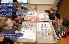 [Making Games] We Are Making Games : <p>Try free Print and Play Classroom Games</p> : Read More »
