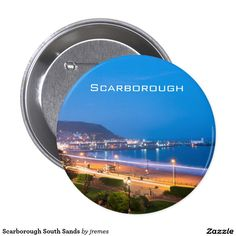 Scarborough South Sands Button
