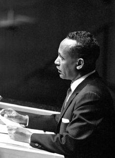 Abduallahi Issa - Prime Minister during Italian Trusteeship at the United Nations