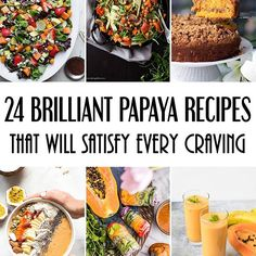 "In the new addition of my ""Around the World in 50 Ingredients"" post series I am having fun with papaya!  Check out the collection of 24 mind-blowing recipes with this tropical fruit. Everything from sweet salads, smoothies, and desserts to soups, savory salads, and main dishes!  Check out the post on cookingtheglobe.com 👈 #recipes #roundup #papaya #fruit #buzzfeast #huffpostgram #huffposttaste #f52grams #foodgawker #eeeeeats #feedfeed #foodstagram #buzzfeedfood #tastemade #thekitchn…"