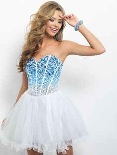 Blush 9677 Homecoming Dress 2013
