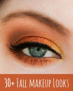 30+ colorful Fall makeup looks