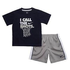 Nike I Call The Shots Tee and Shorts Set - Baby