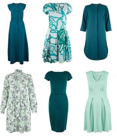 Closet green dresses for St Patrick's Day
