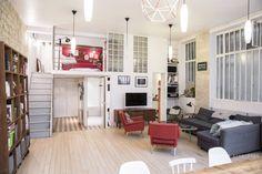 Un loft dans une ancienne imprimerie à Paris