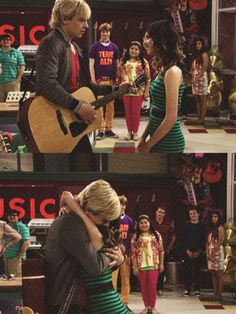 Auslly, I love how trish and dez look at them