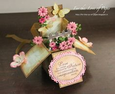 For the love of paper: Pop-up Box Card