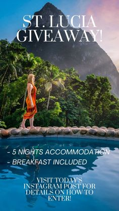 Saint Lucia Escape - Big Giveaway Just in Time for the Holidays We're giving away 5 nights accommodation at the luxurious Stonefield Villas Resort in St. Lucia. Check out our blog post for all the details of how to enter. #travel #contest #Giveaway #caribbean #stlucia