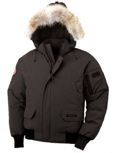 Canada Goose Men Chilliwack Bomber Graphite Parka Is Competitive In Price To Win More Customers! #Warm