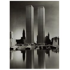 In remembrance | Twin Towers Model Photograph by Balthazar Korab