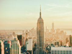 New York City - Skyline Dreamscape by Vivienne Gucwa, via Flickr