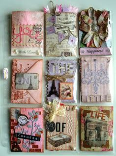 I think I need a new folder for pocket letters. So beautiful and imaginative.