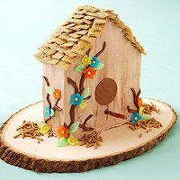 Birdhouse Cake (via Parents.com)