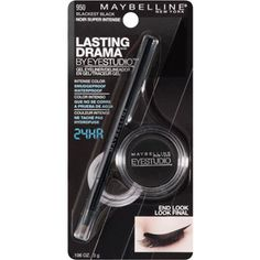 This Maybelline Gel eyeliner is better than the pricier gel liner and only a fraction of the cost.Stays all day even on my waterline.Great for tightlining also.My new Favorite and I am a eyeliner snob...This is a keeper and best of all its a lot cheaper!