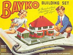 I loved this as a child - my grandparents had some. Bayko - Wikipedia, the free encyclopedia