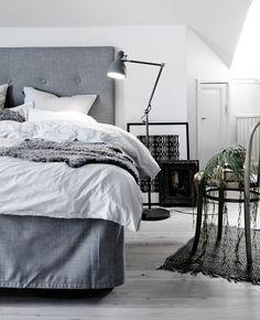 grey bedroom | Decorar tu casa es facilisimo.com