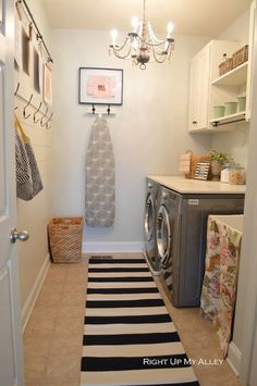 When it comes to designing and decorating your home, your laundry room or space probably comes dead last on your to-do list. As long as it contains everything you need- washer and dryer, enough detergent to clean an army, and maybe even a place to fold clothes, you're probably pretty satisfied with it. Still, thatContinue Reading...