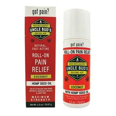 Easy Comforts features Uncle Bud's Pain Relieving Roll-On with Pure Hemp Seed Oil–a topical pain reliever for arthritis, sore muscles, backaches and more. Easy Comforts, Grand Biscuit Recipes, Sore Feet, Relieve Back Pain, Best Anti Aging, Hemp Seeds, Sore Muscles, Hemp Oil, Braces