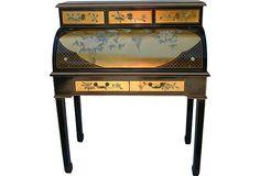 Chinoiserie Roll-Top Desk on OneKingsLane.com