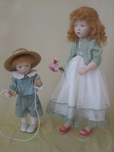 Sylvia Natterer SUNDAY AFTERNOON collection dolls_LUC & CHIMENE, 2008