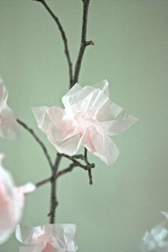How To Create Paper Blossoms | Apartment Therapy