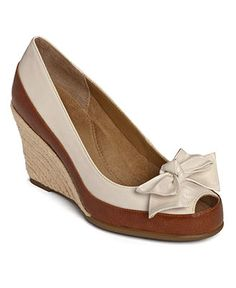 Aerosoles Shoes, Well Wisher Wedged Sandals - The best wedges and make my feet look CUTE!!