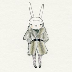 Fifi lapin in fur