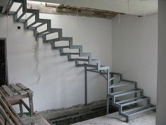at Channels and angles: the manufacture of stair framework  #angles #Channels #Iron #Metal
