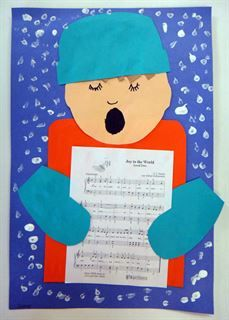 Check out student artwork posted to Artsonia from the Christmas Carolers project gallery at Westside Christian Academy.