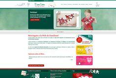 Famílium, diseño web.