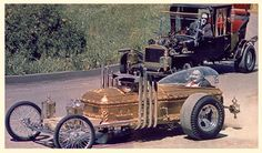 The Munsters Drag Car