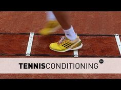 Tennis Footwork Drills | Tennis Conditioning - YouTube