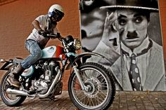 """Supernaag from """"The Captain"""" of Royal Enfield Bologna"""