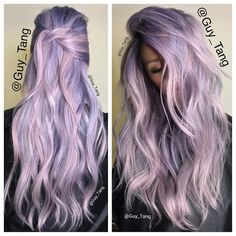 Smoke blue and dusty lavender for my this summer!