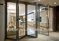 double glazed aluminium exterior bifold door bifold door louver door
