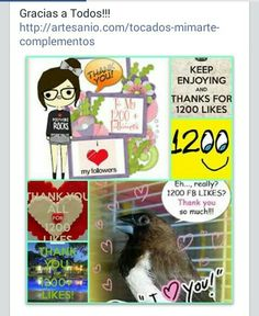 Gracias a todos https://m.facebook.com/Mimarte.Complementos