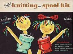 knitting & spool kit <3