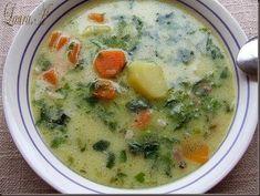 Ciorba de zarzavat - o ciorba cu multe legume - www.lauraadmache.ro Rome Food, Soup Recipes, Cooking Recipes, Healthy Cooking, Healthy Eating, Veg Soup, Bisque Recipe, Romanian Food, Vegan Foods