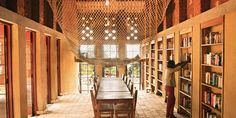 Library in Muyinga, Burundi