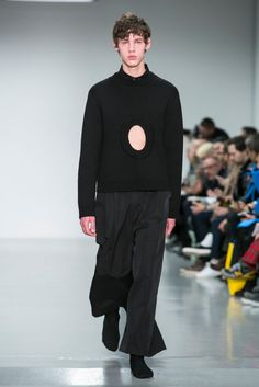 A look from the Craig Green Fall 2015 Menswear collection.