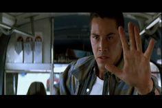 1994 Keanu Reeves in Speed.