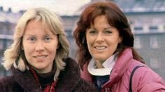 Agnetha with Frida