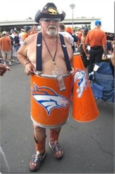 2013 Denver broncos | Denver Broncos superfan 'The Barrel Man' barrel for sale on eBay (pic ...