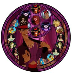 Facilier Princess and the Frog Disney Stained Glass Dr. Disney Love, Disney Magic, Disney Art, Evil Disney, Disney Stuff, Evil Villains, Disney Villains, Disney Princesses, Disney And Dreamworks