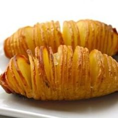 Side Dish - Hasselback Potatoes in an Airfryer